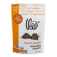 Theo Chocolate Clusters Coconut Turmeric