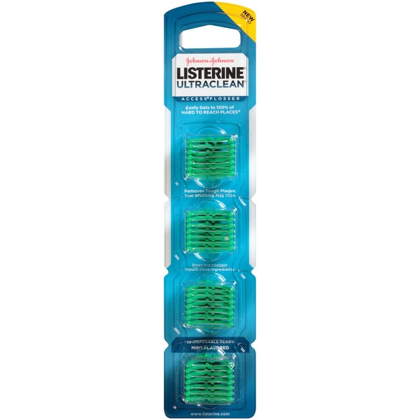 Listerine® Ultraclean Access Mint Flavored Flosser Refills