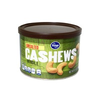 Kroger Unsalted Whole Cashews