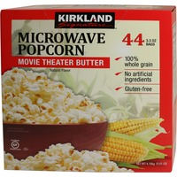 Kirkland Signature Microwave Popcorn Movie Theater Butter
