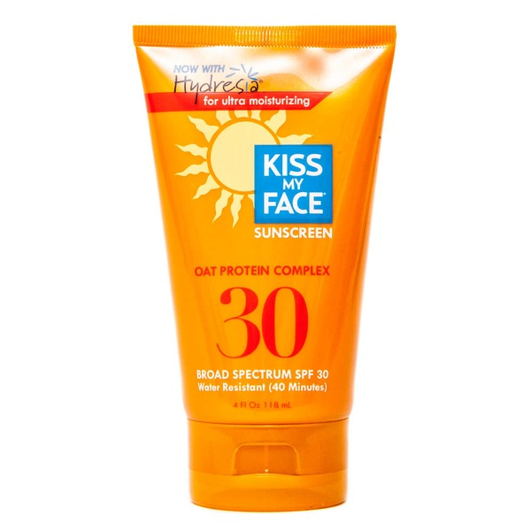 Kiss My Face Sunscreen Oat Protein Complex SPF 30