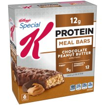 Kellogg's Special K Bar, 12 Grams of Protein, Chocolate Peanut Butter, 1.59 Oz, 6 Ct