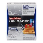Lunchables Uploaded 6-Inch Turkey & Cheddar Sub Sandwich, 5.0 OZ