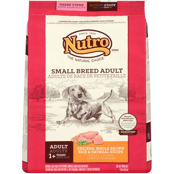 Nutro Wholesome Essentials Small Breed Adult Chicken Dog Food