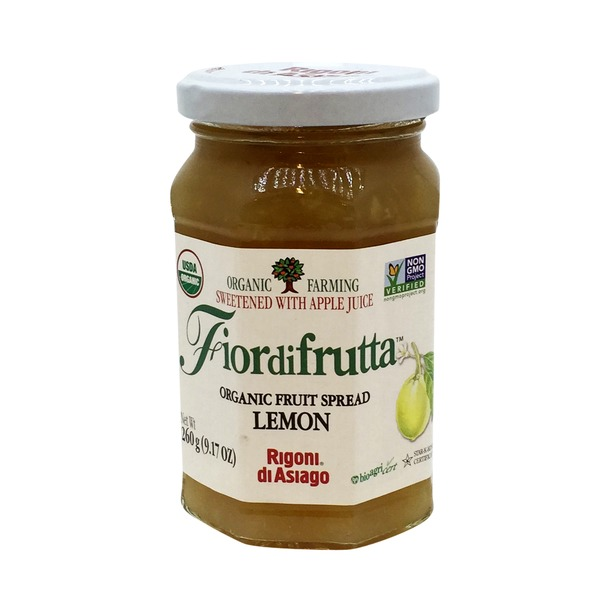 Fiordifrutta Organic Lemon Fruit Spread