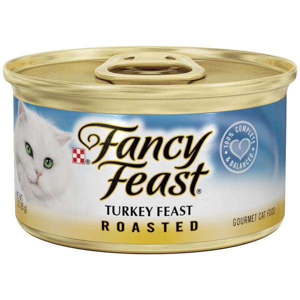 Fancy Feast Wet Roasted Turkey Feast Cat Food