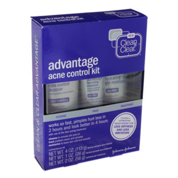 Clean & Clear® Acne Control Kit Acne Treatments