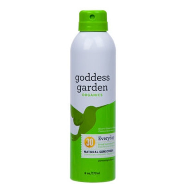 Goddess Garden Sunscreen, Natural, Everyday, Broad Spectrum SPF 30
