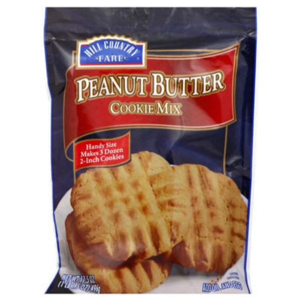 Hill Country Fare Peanut Butter Cookie Mix