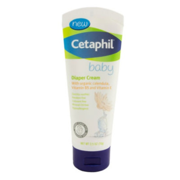 Cetaphil With Organic Calendula, Vitamin B5 and Vitamin E Diaper Cream