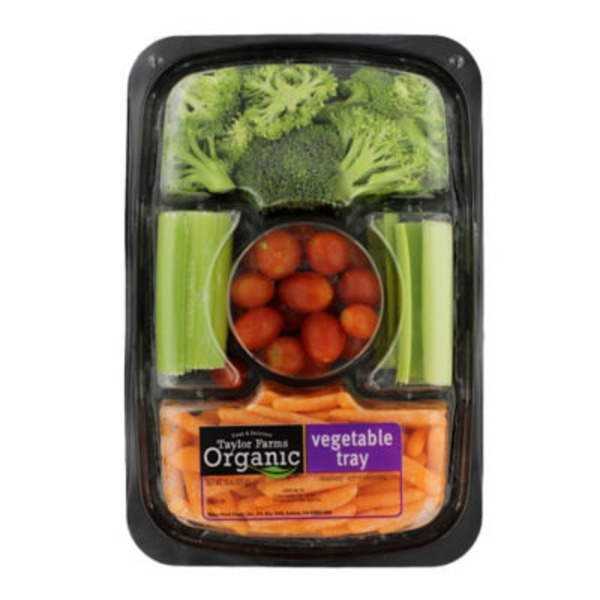 Taylor Farms Organic Vegetable Tray