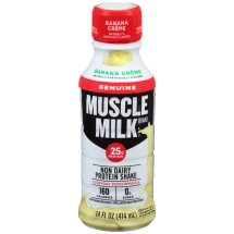 Muscle Milk® Genuine Banana Crème Non Dairy Protein Shake 14 fl. oz. Bottle