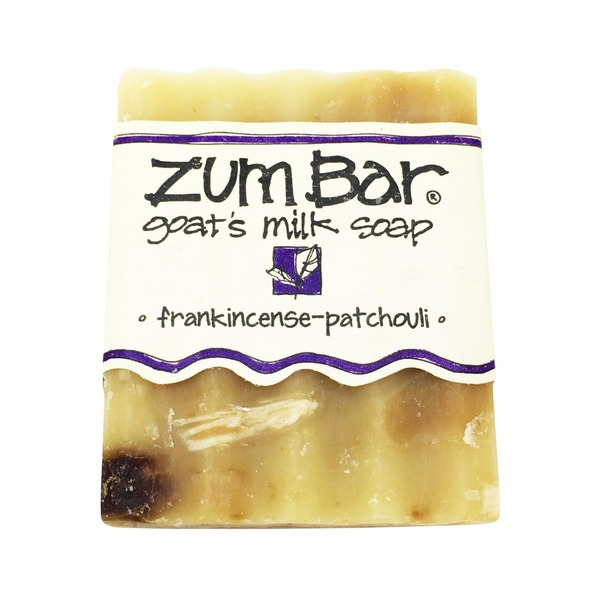 Zum Bar Frankincense Pachouli Goats Milk Soap Bar