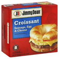 Jimmy Dean Meal Size Sausage Egg & Cheese Croissant - 8