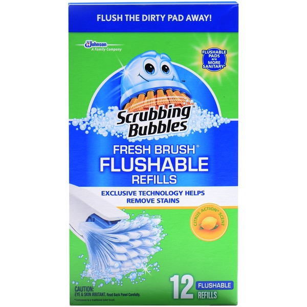 Sb Fresh Brush Fresh Brush Flushable Refills Citrus Action Toilet Cleaner