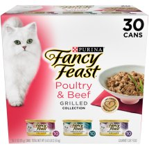 Purina Fancy Feast Grilled Poultry & Beef Collection Wet Cat Food Variety Pack - (1) 3 oz. Cans