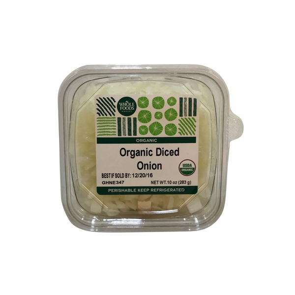 Whole Foods Market Organic Diced Onion