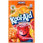 Kool-Aid Unsweetened Orange Flavored Drink Mix