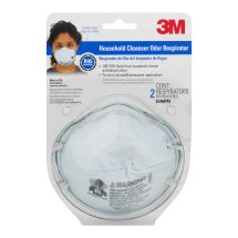 3M Household Cleanser Respirator - 2 CT