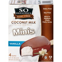 So Delicious Dairy Free Minis Vanilla Coconut Milk Bar