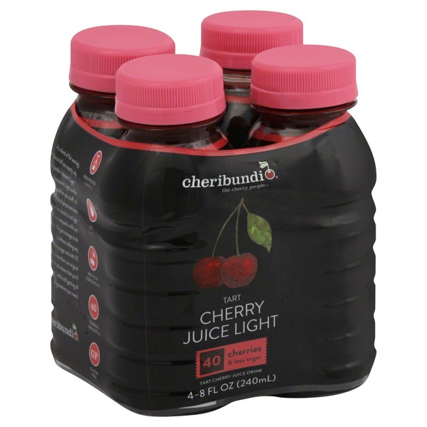 Cheribundi Juice Drink, Tart Cherry, Light