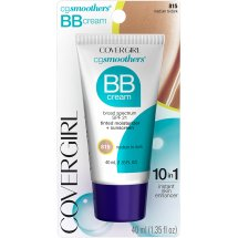 COVERGIRL Smoothers Lightweight BB Cream Medium to Dark 815, 1.35 oz