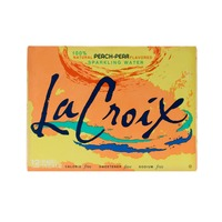 LaCroix Natural Peach-Pear Sparkling Water