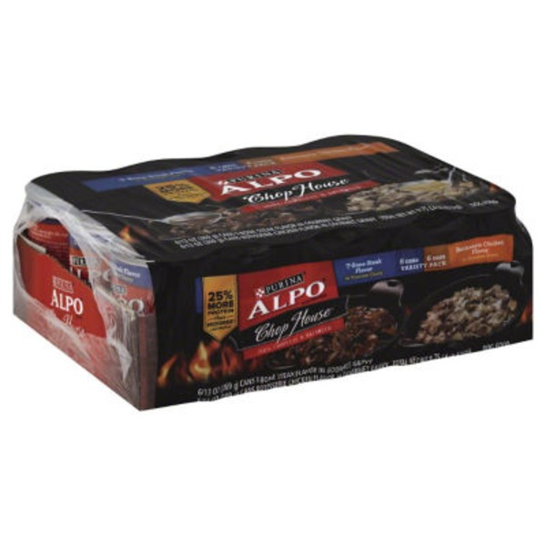 Alpo Wet Chop House Variety Pack Dog Food