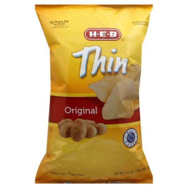 H-E-B Thin Original Potato Chips