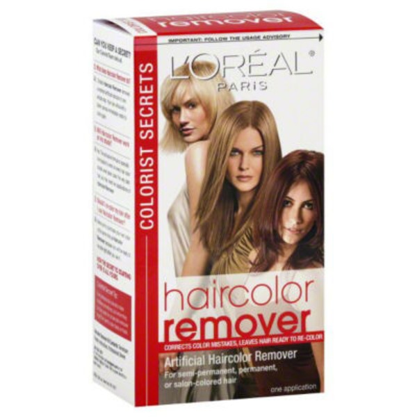 Colorist Secrets Artificial Haircolor Remover