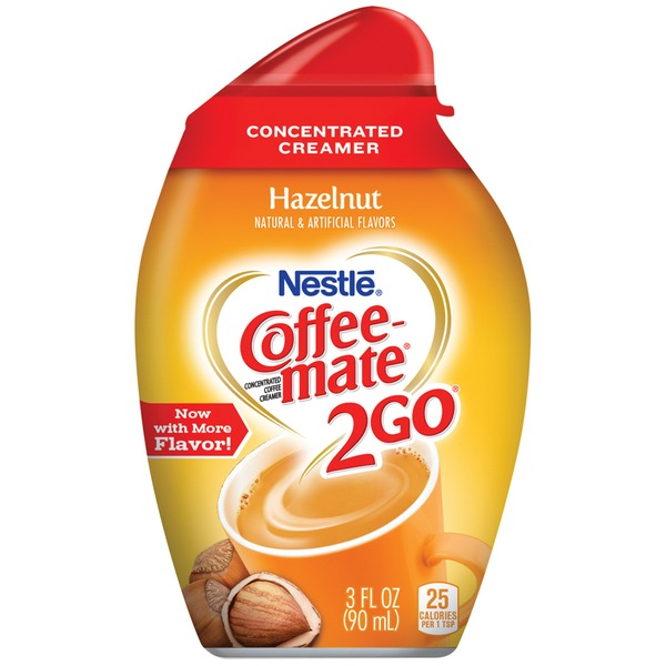 Nestlé Coffee Mate 2Go Hazelnut Concentrated Liquid Coffee Creamer