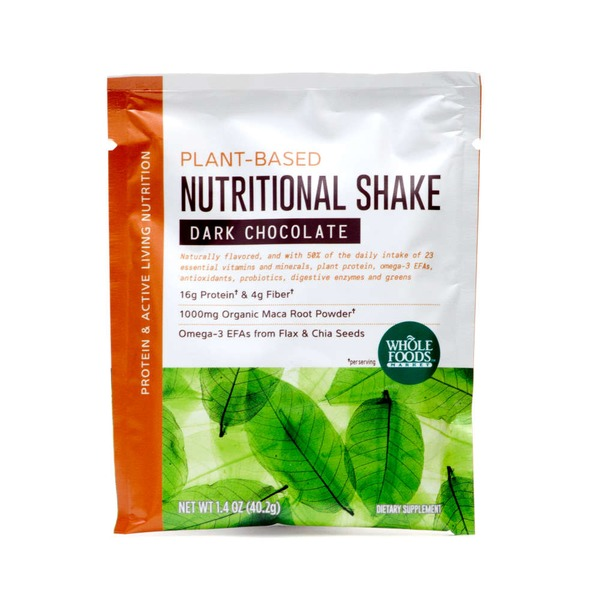 Whole Foods Market Plant-Based Dark Chocolate Nutritional Shake