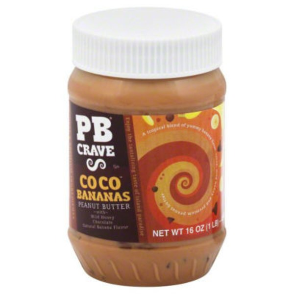 Pb Crave Coco Bananas Peanut Butter