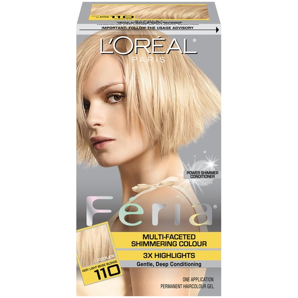 Feria Multi-Faceted Shimmering Colour Very Light Blonde 110 Hair Color
