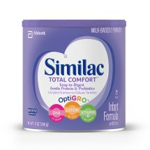 Similac Total Comfort Infant Formula with Iron, Powder, 12 oz