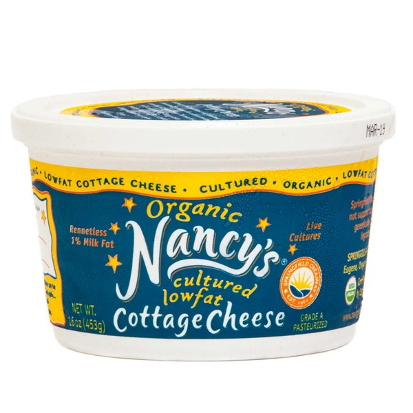 Nancy's Organic Cultured Low Fat 1% Cottage Cheese