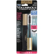 L'Oréal Paris Voluminous Original Carbon Black Waterproof Mascara, 0.26 Fl Oz