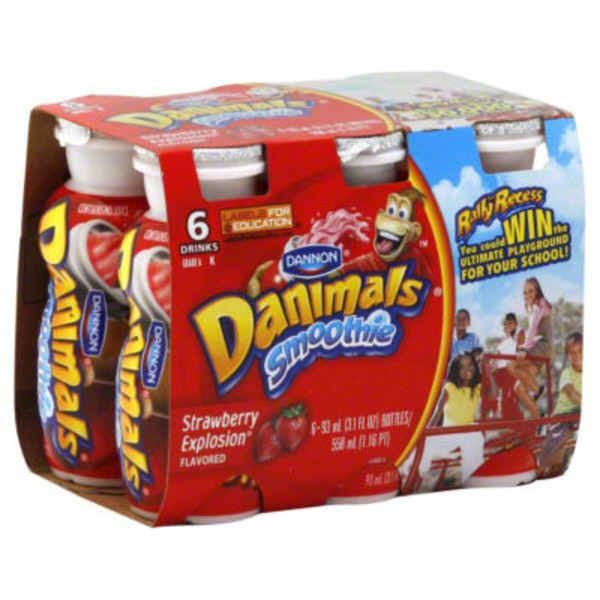 Danimals Danimals Strawberry Yogurt
