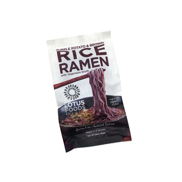 Lotus Foods Purple Potato And Brown Rice Ramen