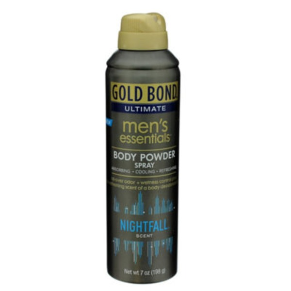 Gold Bond Ultimate Nightfall Men's Body Powder Spray