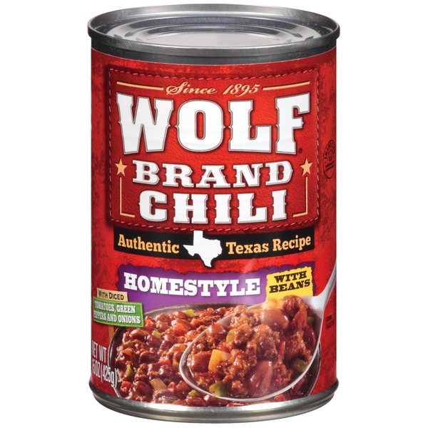 Wolf Homestyle W/Beans Chili
