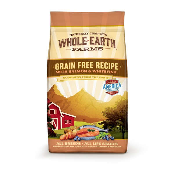 Whole Earth Farms Grain Free Recipe With Salmon & Whitefish Dog Food