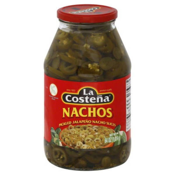 La Costeña Pickled Nacho Slices Jalapeno Peppers