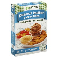 Gopicnic Peanut Butter & Crackers Ready to Eat