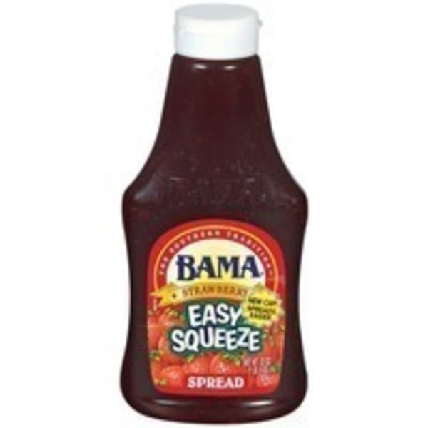 Bama Easy Squeeze Strawberry Spread