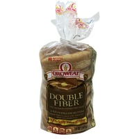 Oroweat Double Fiber Whole Grain Sliced English Muffins