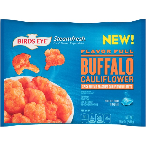 Steamfresh Flavor Full Buffalo Cauliflower