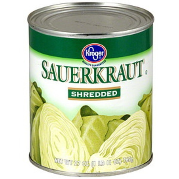 Kroger Shredded Sauerkraut