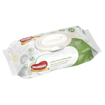 HUGGIES Natural Care Baby Wipes, Soft Pack, Fragrance-free, Hypoallergenic, 56 Sheets