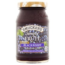 Smucker's Simply Fruit Seedless Blackberry Spreadable Fruit, 10 oz